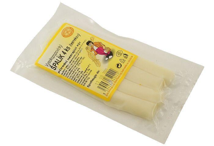 Sýrový špalík 4ks česnekový